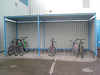 Arba - Clad Bicycle Shelter