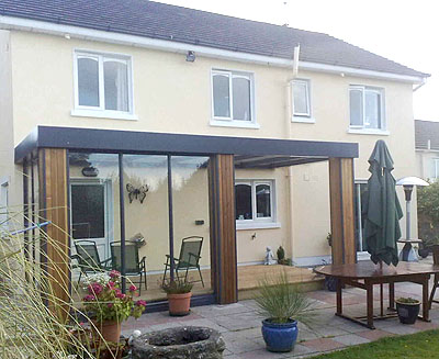 Arba - A Canopy & Arba for home - Garden Structures Ireland