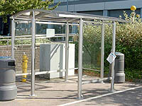 Arba - Stainless Shelter