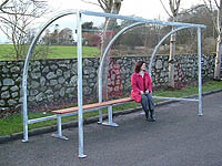 Arba - Curved Waiting Shelter